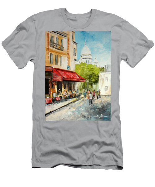 Paris Cafe Men's T-Shirt (Athletic Fit)