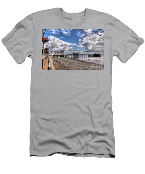 Penarth Pier 3 Men's T-Shirt (Slim Fit)