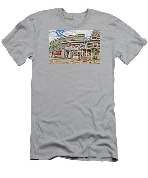 Shadow Of The Stadium Men's T-Shirt (Slim Fit) by Scott Pellegrin