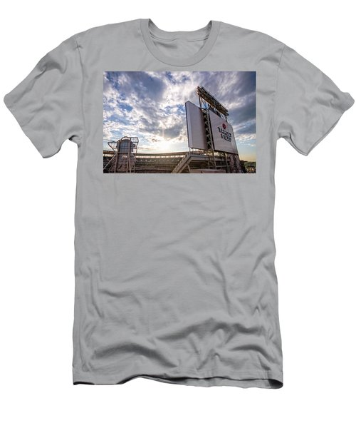 Target Field Sunset Men's T-Shirt (Athletic Fit)