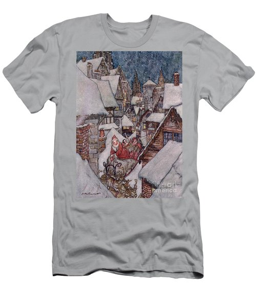 'the Night Before Christmas Men's T-Shirt (Athletic Fit)