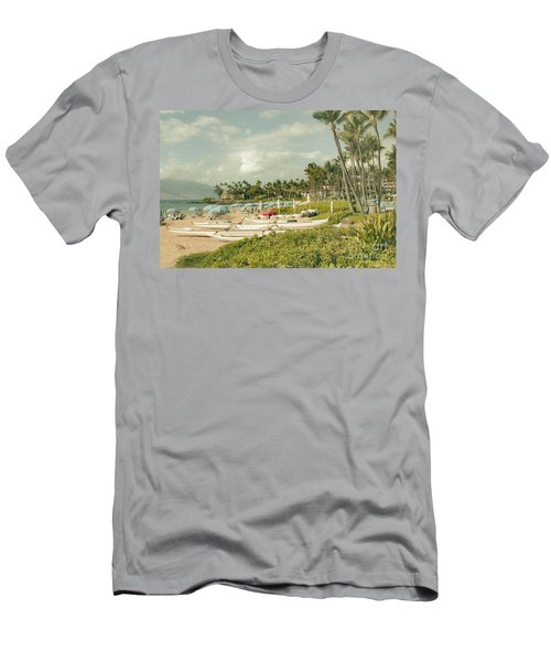 Wailea Beach Maui Hawaii Men's T-Shirt (Athletic Fit)