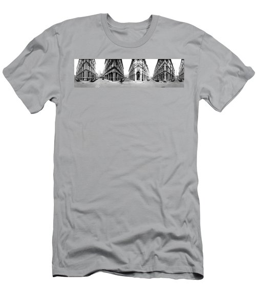 360 Degree View Of A City, Montreal Men's T-Shirt (Athletic Fit)