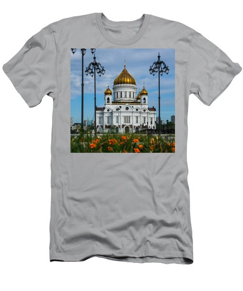Cathedral Of Christ The Savior Of Moscow - Russia - Featured 3 Men's T-Shirt (Athletic Fit)