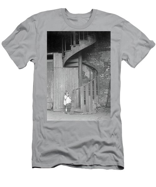 Men's T-Shirt (Slim Fit) featuring the photograph New Orleans, C1925 by Granger