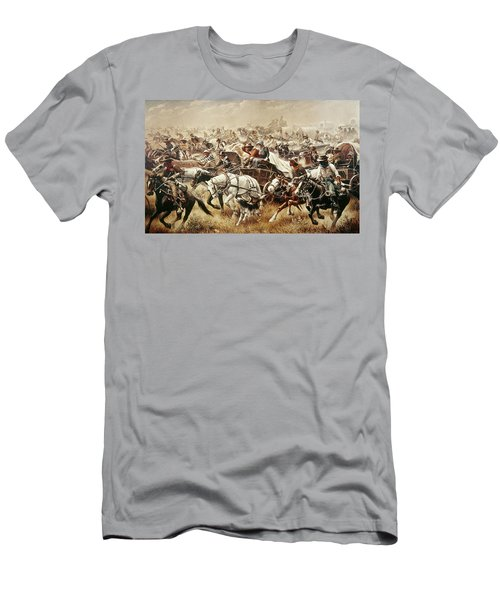 Oklahoma Land Rush, 1889 Men's T-Shirt (Athletic Fit)