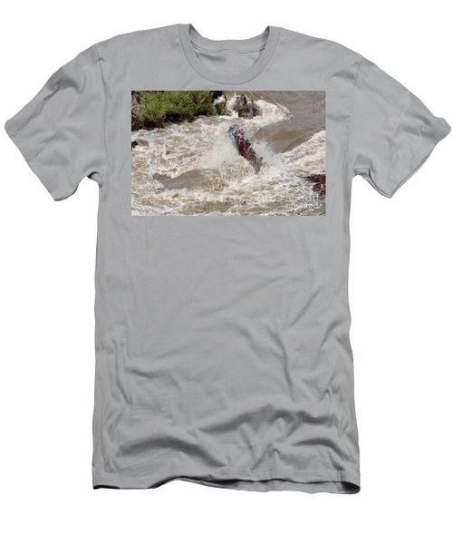 Rio Grande Rafting Men's T-Shirt (Athletic Fit)