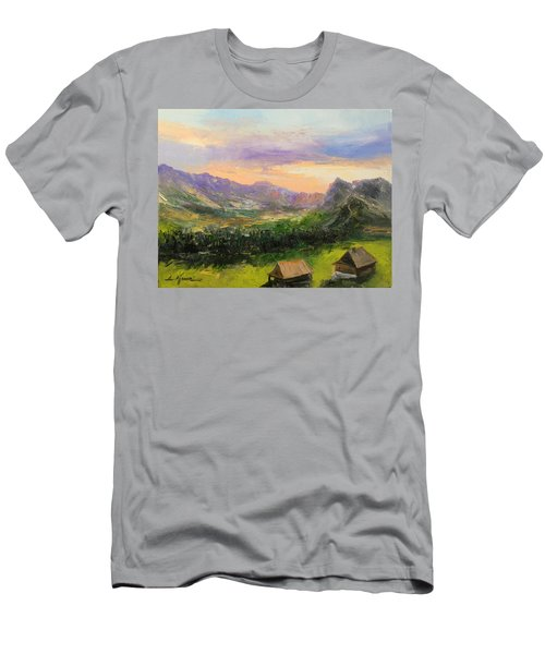 Tatry Mountains- Poland Men's T-Shirt (Athletic Fit)