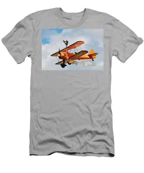 Breitling Wingwalkers Team Men's T-Shirt (Athletic Fit)