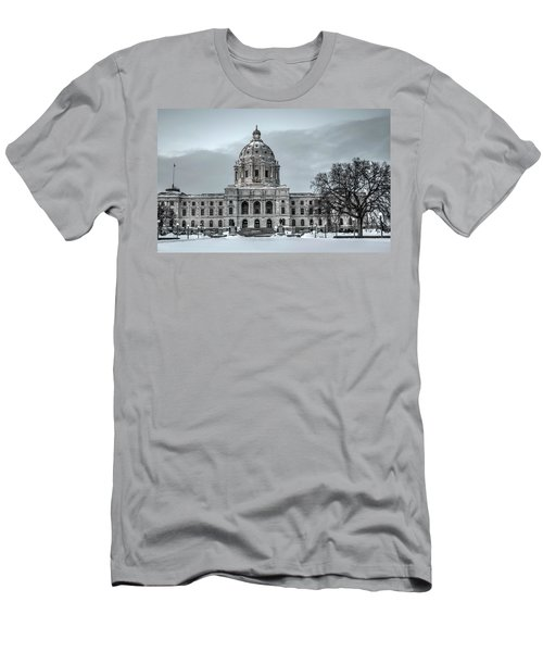 Minnesota State Capitol St Paul Men's T-Shirt (Athletic Fit)