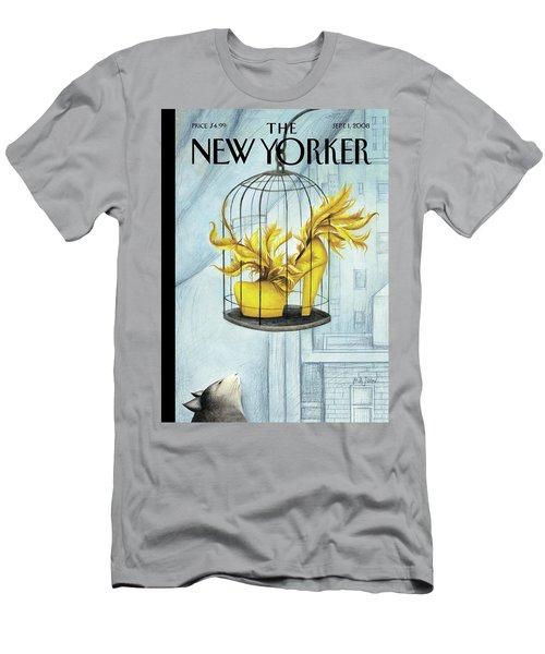 New Yorker September 1st, 2008 Men's T-Shirt (Athletic Fit)