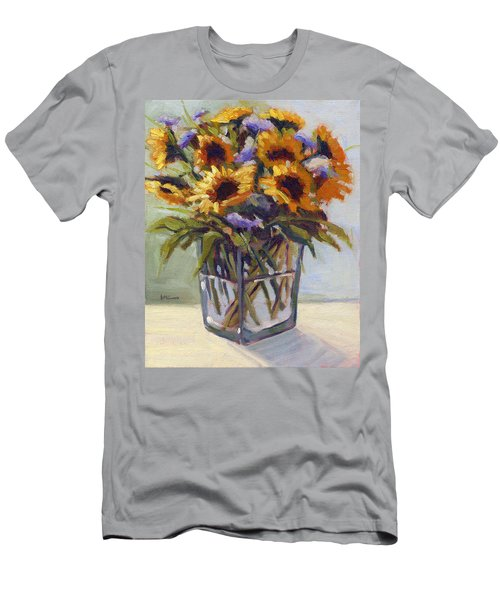 Summer Bouquet 4 Men's T-Shirt (Athletic Fit)