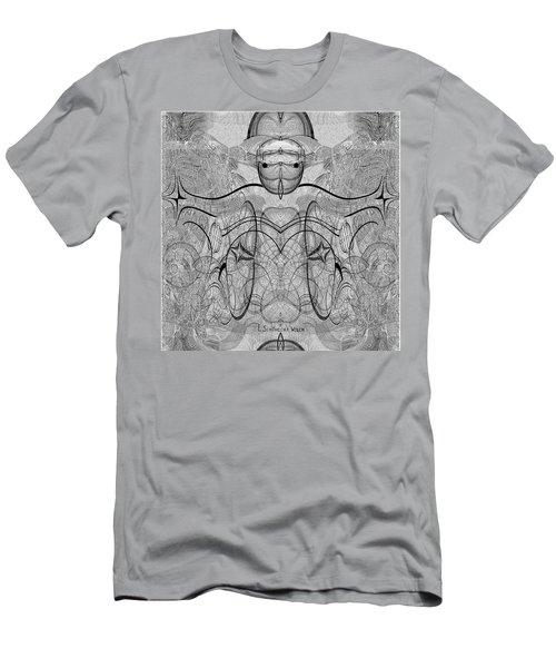 989 - Giant Creature Fractal ... Men's T-Shirt (Athletic Fit)