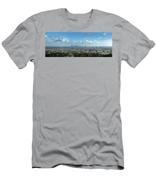 A 10 Day In Los Angeles Men's T-Shirt (Slim Fit) by David Zanzinger