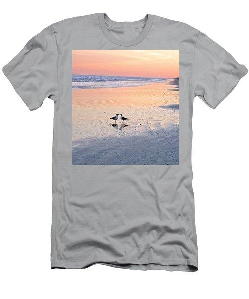 A Beach Romance Men's T-Shirt (Athletic Fit)