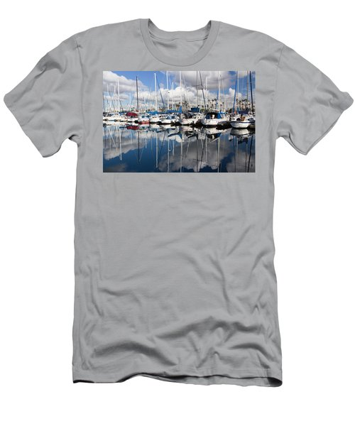 A Beautiful Morning Men's T-Shirt (Slim Fit) by Heidi Smith