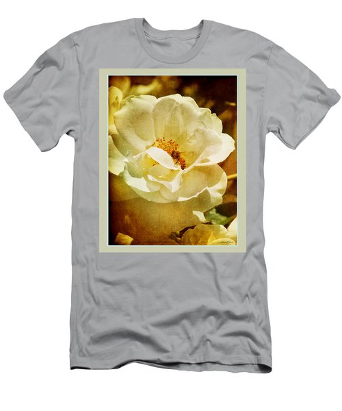 A Bee And Rose Men's T-Shirt (Athletic Fit)