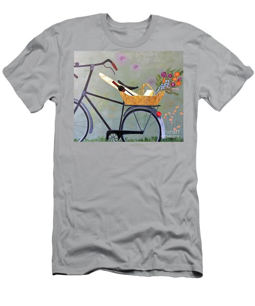A Bicycle Break Men's T-Shirt (Athletic Fit)