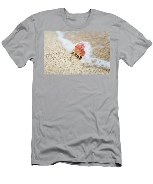 A Close Up Of A Cowry Shell Men's T-Shirt (Athletic Fit)