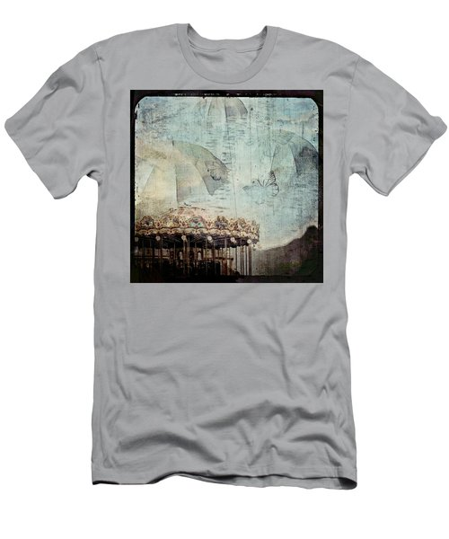 A Day At The Beach Men's T-Shirt (Athletic Fit)