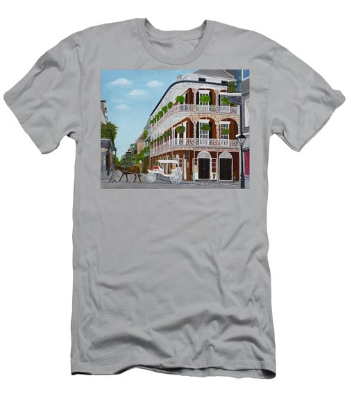 A Carriage Ride In The French Quarter Men's T-Shirt (Athletic Fit)