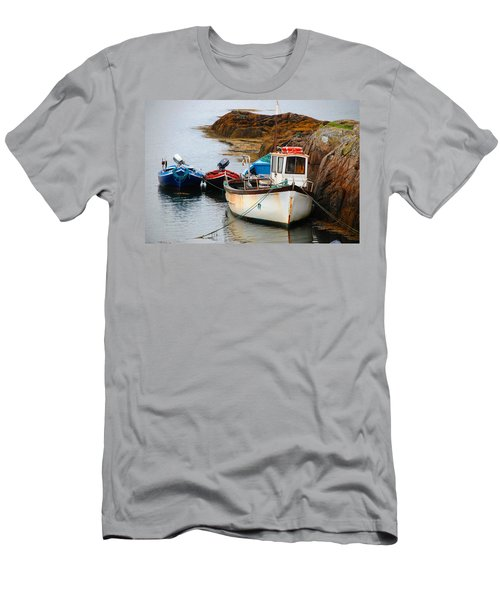 A Fishing We Will Go Men's T-Shirt (Athletic Fit)