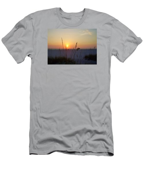 A Florida Sunset Men's T-Shirt (Slim Fit) by Cynthia Guinn