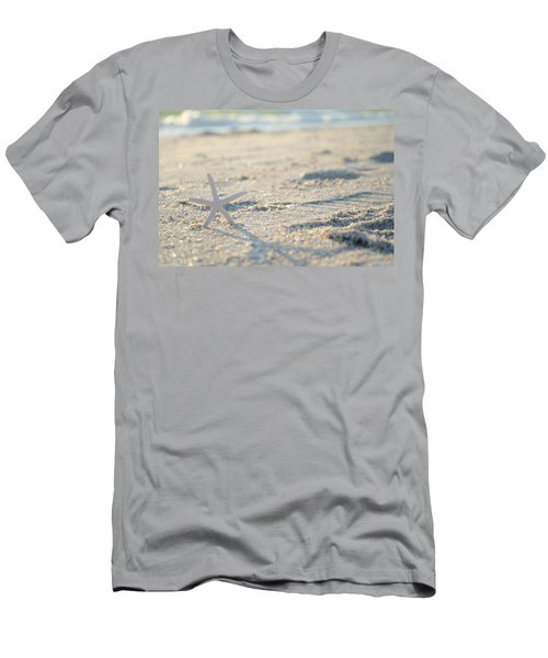 A Gentle Thought Men's T-Shirt (Slim Fit) by Melanie Moraga