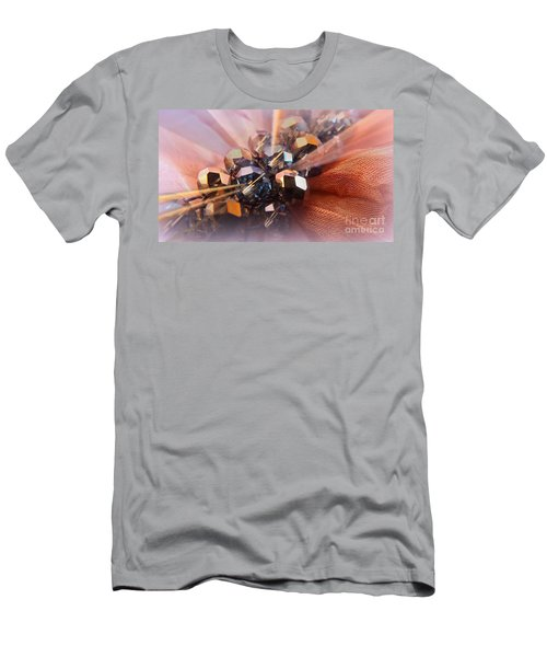 Men's T-Shirt (Slim Fit) featuring the photograph A Girls Best Friend  by Clare Bevan