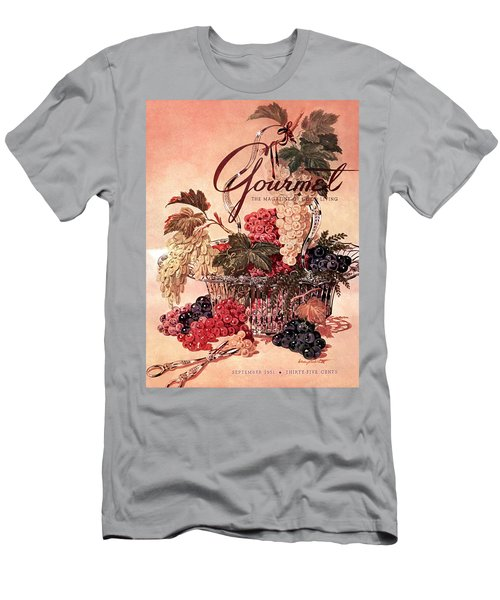 A Gourmet Cover Of Grapes Men's T-Shirt (Athletic Fit)