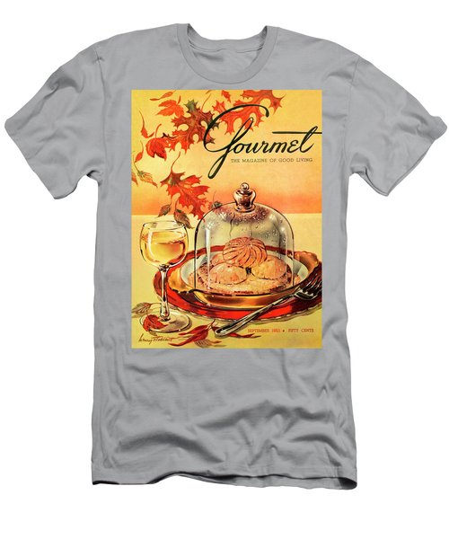 A Gourmet Cover Of Mushrooms On Toast Men's T-Shirt (Athletic Fit)