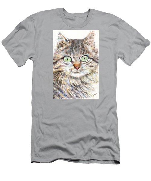 A Handsome Cat  Men's T-Shirt (Athletic Fit)