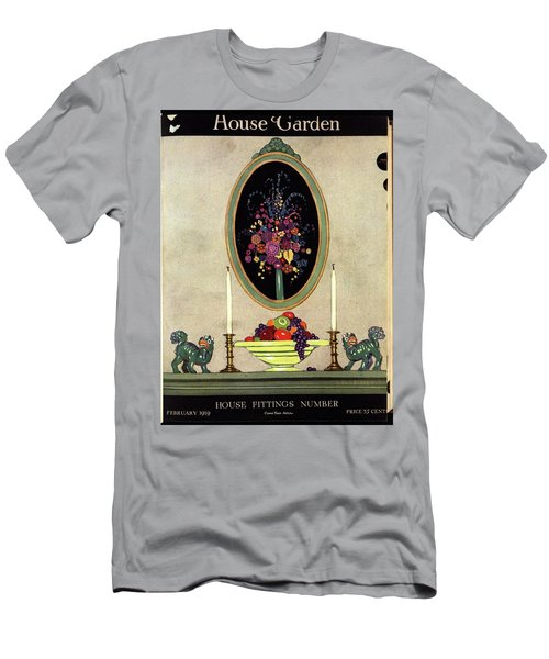 A House And Garden Cover Of A Mantelpiece Men's T-Shirt (Athletic Fit)