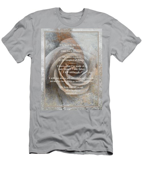 Men's T-Shirt (Slim Fit) featuring the photograph A Love Poem And Photograph by Brooks Garten Hauschild