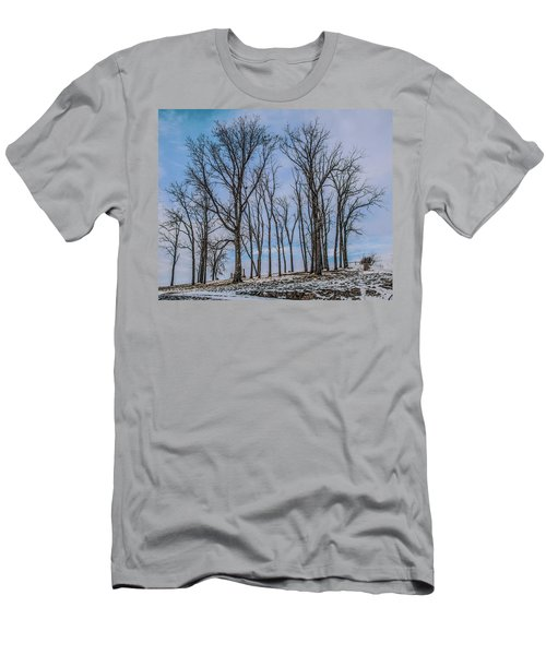 Men's T-Shirt (Slim Fit) featuring the photograph A Resting Place by Ray Congrove
