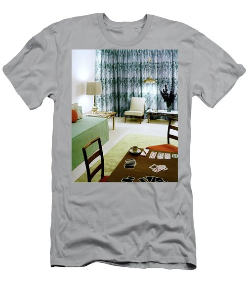 A Retro Bedroom Men's T-Shirt (Athletic Fit)