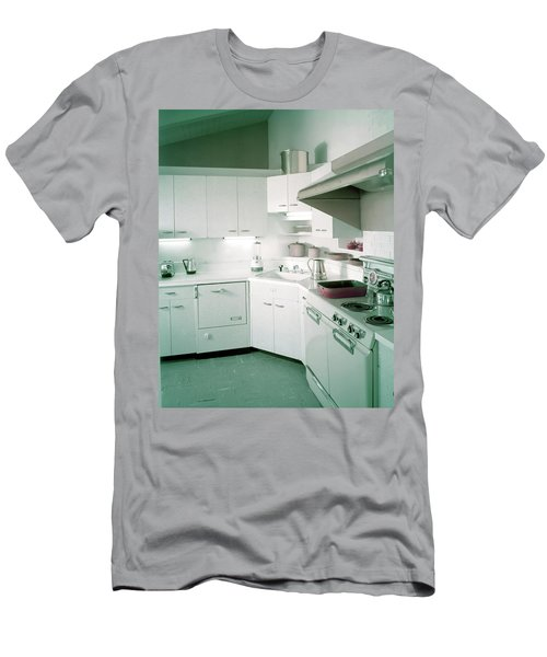 A Retro Kitchen Men's T-Shirt (Athletic Fit)