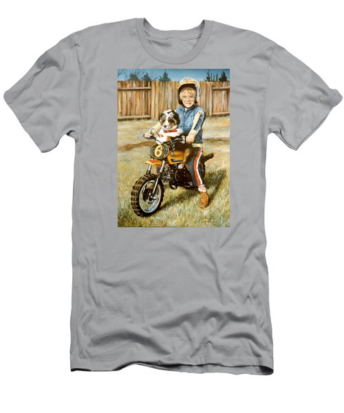 A Ride In The Backyard Men's T-Shirt (Athletic Fit)