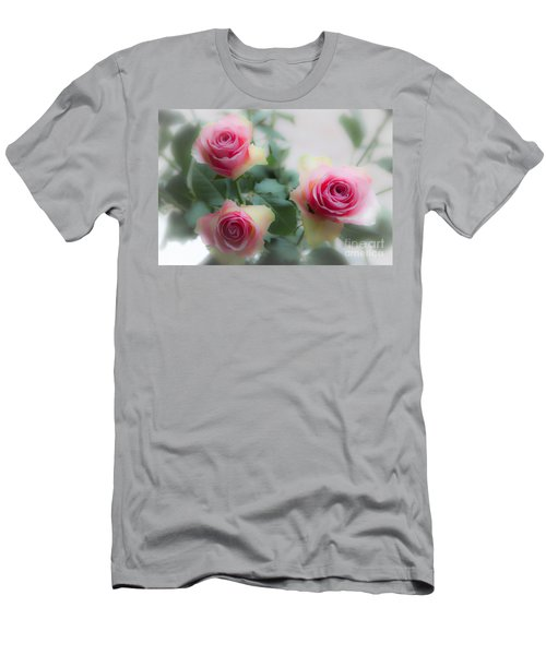 A Rose And A Rose And A Rose Men's T-Shirt (Athletic Fit)
