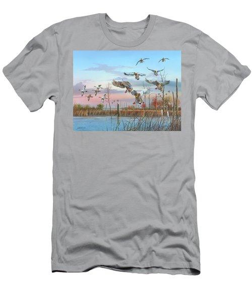 A Safe Return Men's T-Shirt (Athletic Fit)
