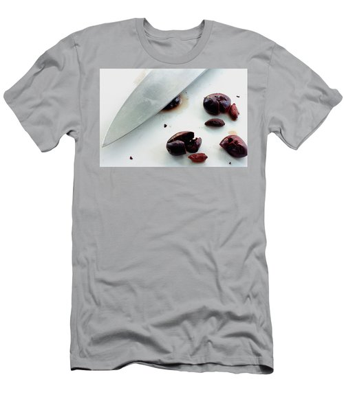 A Sharp Knife And A Group Of Olives Men's T-Shirt (Athletic Fit)
