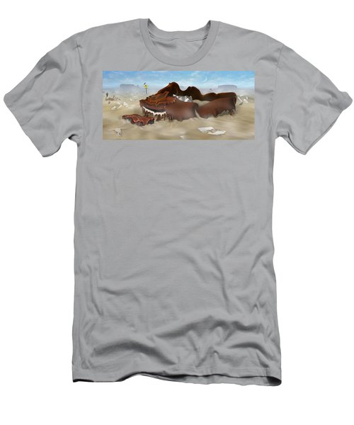 A Slow Death In Piano Valley - Panoramic Men's T-Shirt (Athletic Fit)
