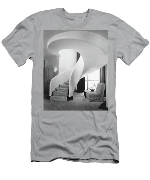 A Spiral Staircase Men's T-Shirt (Athletic Fit)
