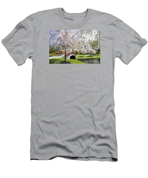 A Spring Walk Men's T-Shirt (Slim Fit) by Paul W Faust -  Impressions of Light