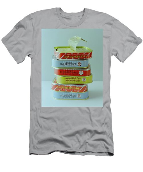 A Stack Of Cans Of Sardines Men's T-Shirt (Athletic Fit)