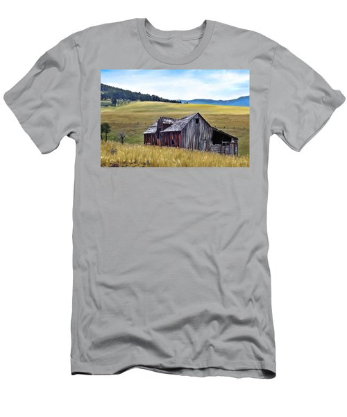 A Time In Montana Men's T-Shirt (Athletic Fit)