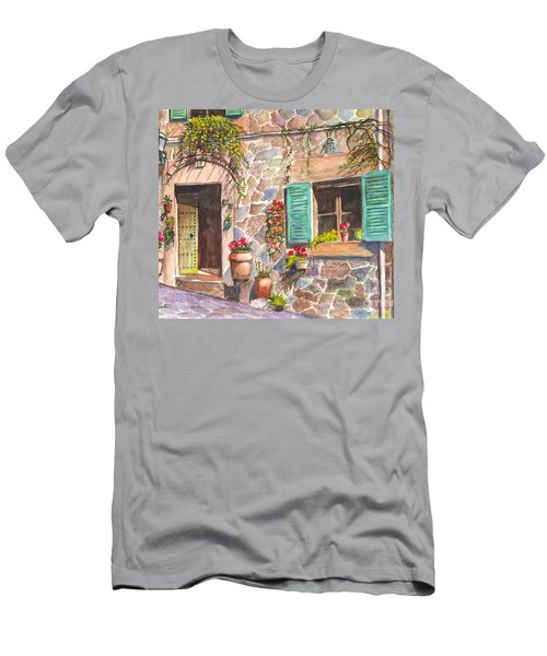 A Townhouse In Majorca Spain Men's T-Shirt (Athletic Fit)