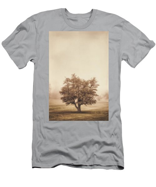 A Tree In The Fog Men's T-Shirt (Athletic Fit)