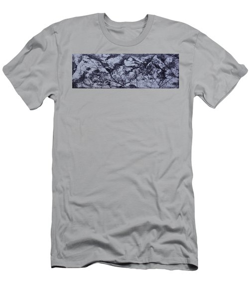 A View Men's T-Shirt (Slim Fit) by Erika Chamberlin