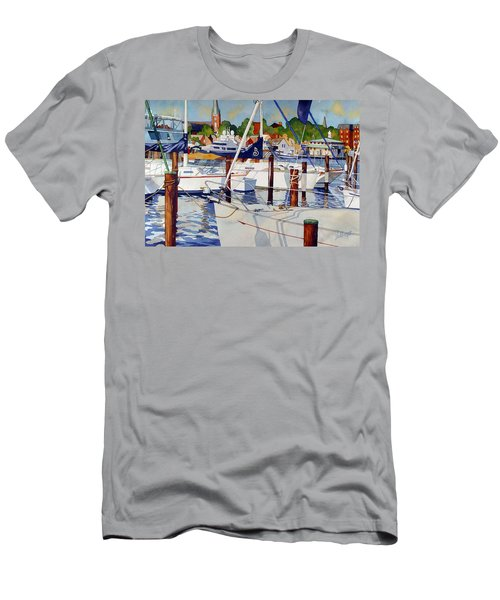 A View From The Pier Men's T-Shirt (Athletic Fit)